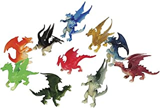 Just4fun 3 Dozen (36) Mini Dragon Toy Figures - 2