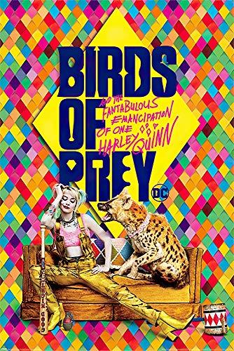 61DwYCebvjL Harley Quinn Birds of Prey Posters