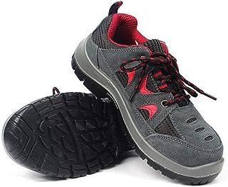 Shoes Chaussures de Travail Respirantes, Chaussures de Protection antistatiques avec Embout en Acier, Chaussures de Protec...