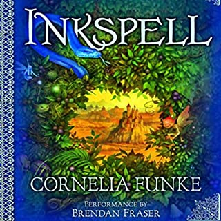 Inkspell audiobook cover art