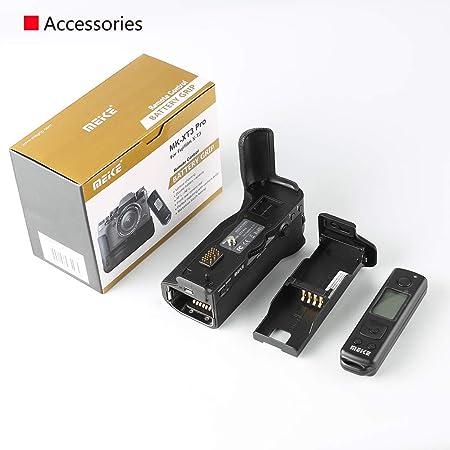 Camera Battery Grip,MK-XT3Pro 100m 2.4G Wireless Remote Control Battery Grip Handle for Fuji X-T3 Mirrorless Camera