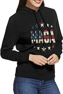 DGGE MAGA Womens Hoodies Sweatshirts Clothing and Sports