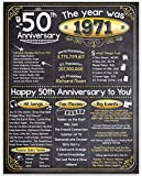 Happy 50th Anniversary (Fifty, 50) - Year...