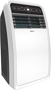 Shinco 8,000 BTU Portable Air Conditioner with Built-in Dehumidifier Function,Fan Mode, Quiet AC Unit Cools Rooms up to 200 s