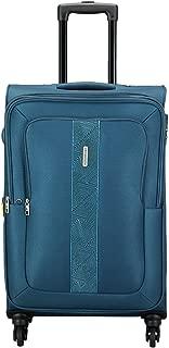 Aristocrat Polyester 41.5 cms Blue Softsided Check-in Luggage (STESIW69BLU)