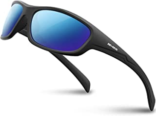 RIVBOS Polarized Sports Sunglasses Driving Glasses Shades for Men Women for Cycling Baseball 842