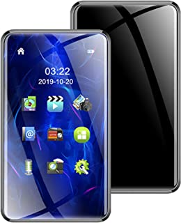 Bluetooth 5.0 Full Touch Screen HD Mp4 Player, 3.0-Inch Hifi Lossless Sound Mp3 Music Player, 2.5D Hyperboloid Mirror,4g