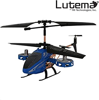 Lutema MIT6CAVHB Avatar 2 Hovercraft 4CH Remote Control Helicopter , Blue