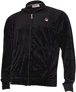 Men's Kooper Zip Front Velour Track Jacket