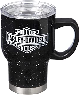 Harley-Davidson Double Wall Stainless Steel Travel Cup w/Handle, 22oz 3SSHD4902