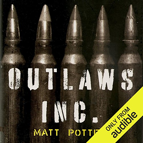 Outlaws, Inc audiobook cover art