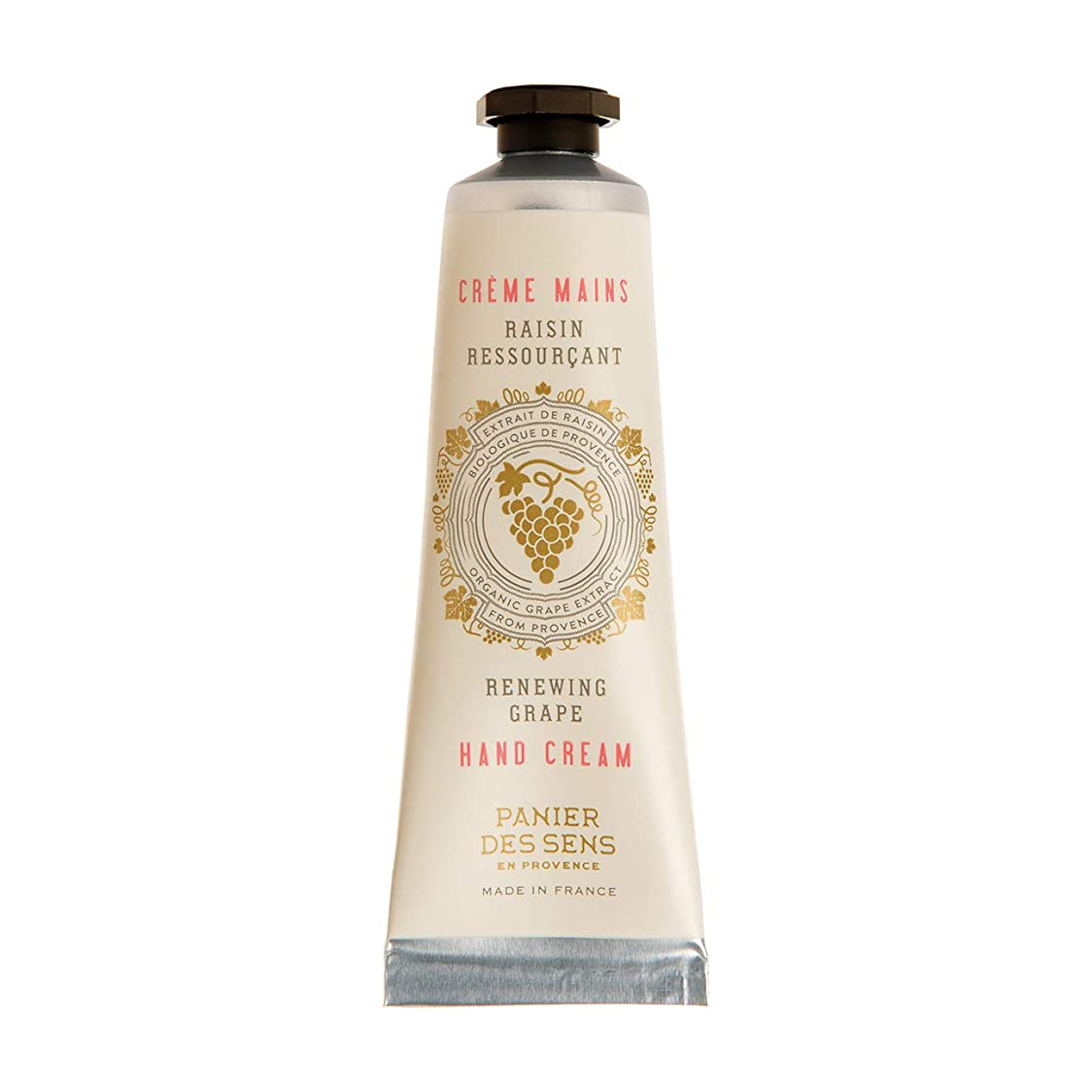 刺繍四半期控えめなパニエデサンス ハンドクリーム ホワイトグレープのフレッシュな香り 30mL(手肌用保湿 フランス製)
