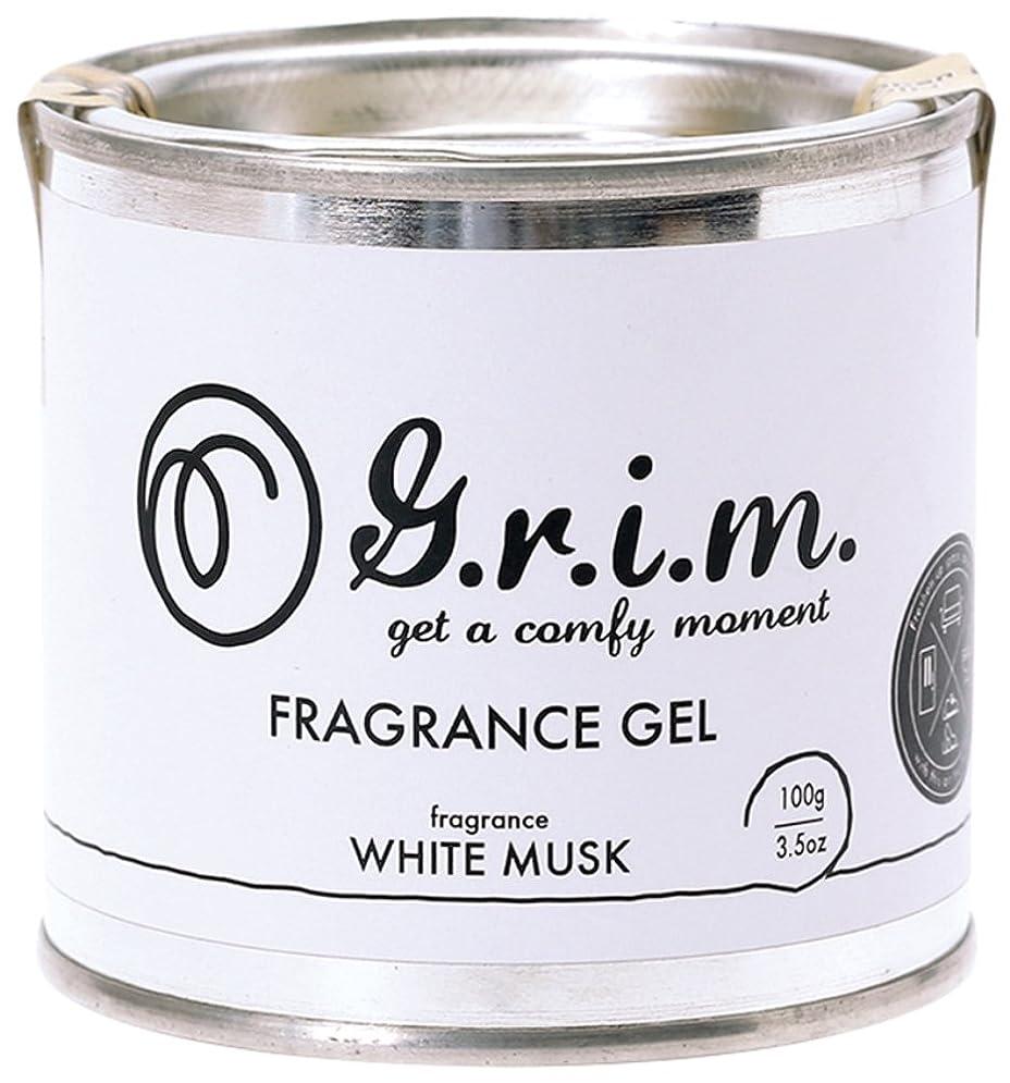 添加剤危機スペルノルコーポレーション フレグランスジェル g.r.i.m ホワイトムスク OA-GRM-2-1