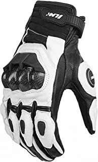 Best white icon motorcycle gloves Reviews