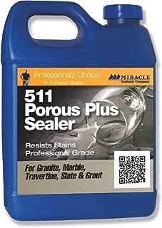 Miracle Sealants 511 Porous Plus Penetrating Sealer Resists Stains Professional Durable Grade 1 Gallon