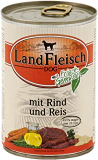 LandFleisch | Pur Rind & Reis extra mager | 12 x 400