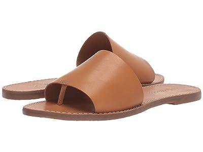Madewell Boardwalk Post Slide Sandal (Desert Camel) Women