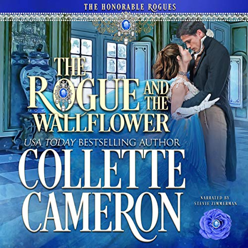 The Rogue and the Wallflower audiobook cover art