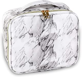 NW 1776 Outdoor Waterproof Travel Skin Care Product Storage Bag, Marble Cosmetic Bag