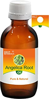 SSCP Botanicals Angelica Root Pure & Natural Essential Oil (Angelica archangelica) (1000 ml (33.80 Oz) Aluminium Bottle)