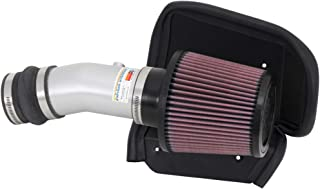 K&N Cold Air Intake Kit with Washable Air Filter:  2013-2016 Dodge Dart, 2.0L L4, Polished Metal Finish with Red Oiled Filter, 69-2547TS