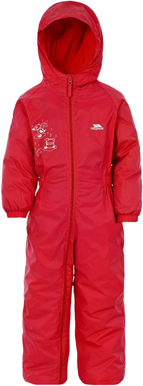 Dripdrop Boys Girls Waterproof Breathable Padded All in One Rain Suit