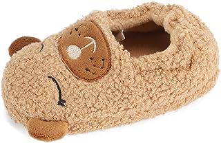 MASOCIO Zapatillas de Estar por Casa para Niñas Niños Animales Pantuflas de Casa de Cálido Suave Antideslizante