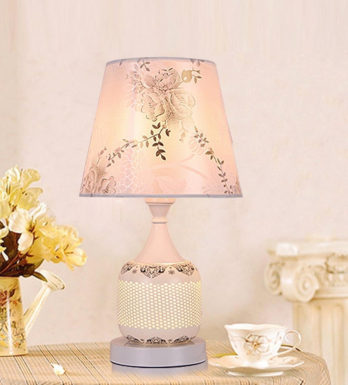 GZEALL Keramik Tischlampe Schlafzimmer Bedside Cabinet Lamp Up und Down Two Light Sourcelamp E27 Drei Switch-Typen B07GFWXYMG   Charmantes Design