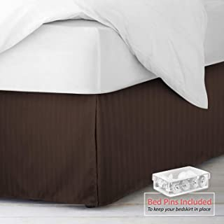 Best beige king bed skirt Reviews