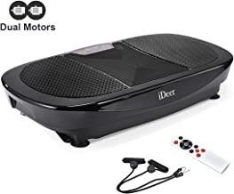 IDEER 3D Vibration Platform Exercise Machine,Dual Motors Oscillation 3D Motion Vibration Plates Exercise Machine,Whole Full Body Fit Massage Vibration Plate for Home Fitness& Weight Loss.