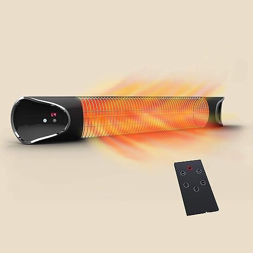 Mediashop Livington Instant Heater – Infrarotheizung für schnelle Wärme ohne Energieverlust – Heizstrahler mit Timer & Fernbedienung – auch als...