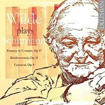 David Wilde Plays Schumann