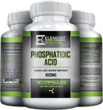 Phosphatidic Acid (Mediator®) - Elevate mTOR - Nutrient Partitioner - Safe for Men & Women - Lean Muscle -1600 MGS Per Ser...