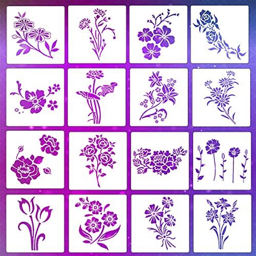 Plantillas para Pintar Paredes Flores Marca LYPER