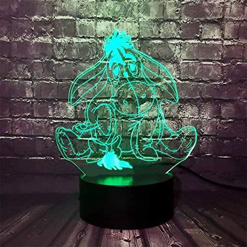 Winnie Puuh 3D-Nachtlichter, Geschenke für Teenager Jungen, 16 Farben, Heißluftballon-Nachtlicht für Geburtstag, Urlaub, Dekoration, Geschenk