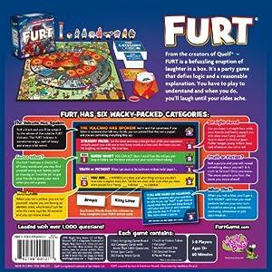 Wiggity Bang Games FURT Board Game