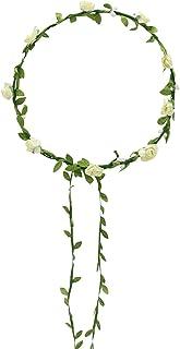 Broadfashion Bluelans Haarkranz Blumen Damen Mädchen Hochzeit Kommunion Blumenhaarkranz
