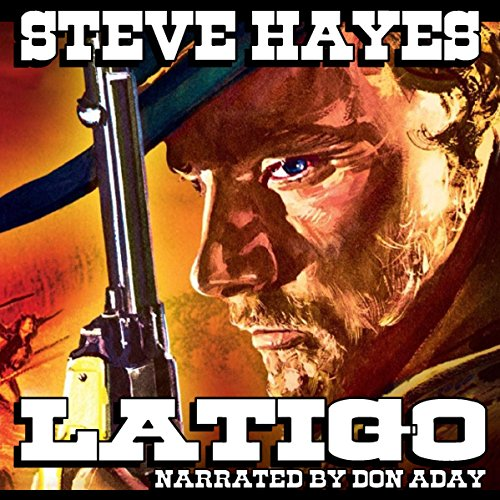 Latigo audiobook cover art