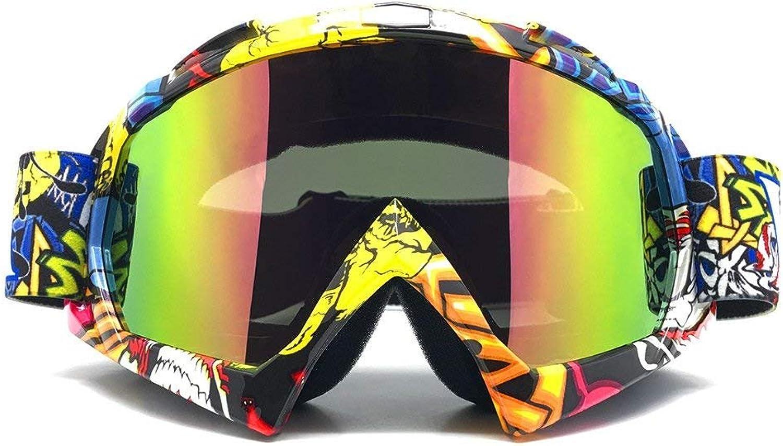 Zdatt Professional Adult Motocross Goggles (Z17401, Z17401)