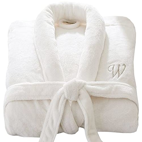 Personalised Bathrobe Custom with Your Text Embroidery on Luxury Velour  100% Cotton Terry Towel Bathrobes c5631f73f