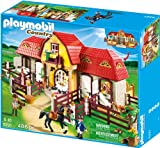 PLAYMOBIL Country 5221 Großer Reiterhof mit Paddocks, Ab 5 Jahren