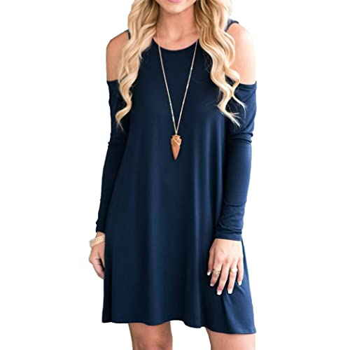 Navy Blue Sweater Dress Amazoncom