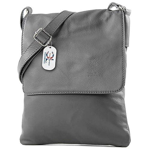 3d6ebee249 Craze London Women Mini Genuine Italian Soft Leather Verapelle Cross body Messenger  Bag Shoulder Strap Hand