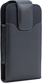 Google Nexus 5X Premium Vertical Leather Belt Clip Swivel Pouch Case Cover Holster (Fits Google Nexus 5X with the Slim or Thin case)