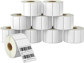 "BETCKEY - برچسب های بارکد و آدرسهای 2 ""x 1"" UPC سازگار با چاپگر برچسب Zebra & Rollo ، چسب پرمیوم و سوراخ دار [10 رول ، 13000 برچسب]"