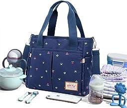 Bolso cambiador de bebé grande Weekender Bolso de viaje para pañales Elegante para mamá y papá Bolso de hospital de maternidad portátil Bolsos para cambiar pañales que se pueden llevar y cruzar