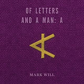Of Letters and a Man: A cover art