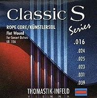 Thomastik-Infeld KN24 クラシックギター Strings: Classic N Series Nylon Flat Wound - Single B String アコースティックギター アコギ ギター (並行輸入)