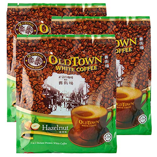 Oldtown 3 in 1 White Coffee Hazelnut 15 sachets (Pack of 3)