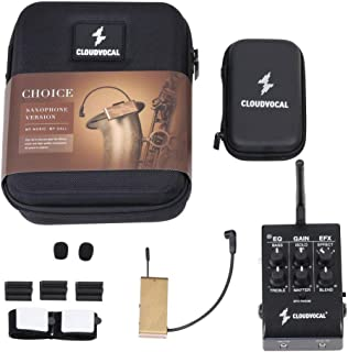 ISOLO CHOICE-Saxophone Version, Wireless Microphone System-EQ,Effect all in one package